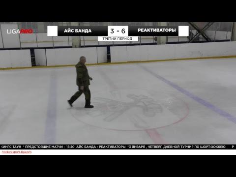 Шорт хоккей. Дневной турнир. Лига Про. 3 января 2019 г