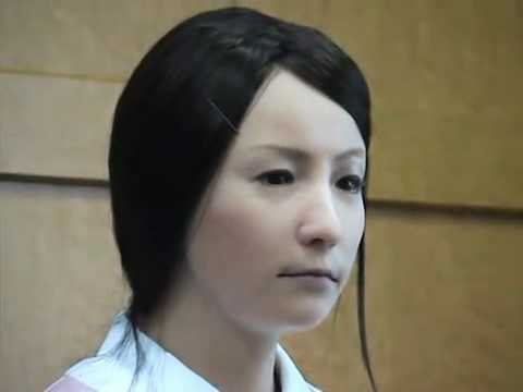 Creepy Robot Looks Like A Real Woman - YouTube