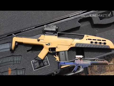 XM8 VIDA REAL / arma de FREE FIRE vida REAL / FREE FIRE CHILE