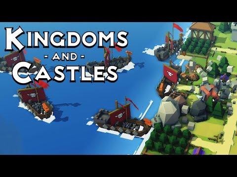 HUGE VIKING INVASION! Kingdoms And Castles - Episode 8