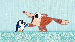 Der Pinguin auf meiner Schmusedecke