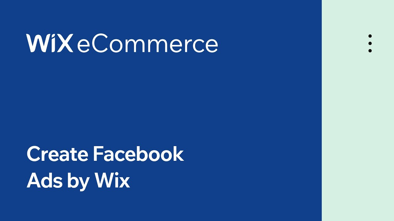 Wix eCommerce | Create Optimized Ad Campaigns with the Power of Wix AI