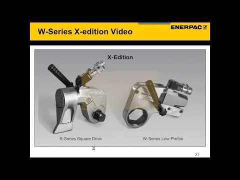 Hydraulic, Pneumatic, Electric Torque Wrenches - Training Webinar | Enerpac Academy