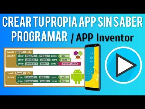 crear-tu-propia-app-para-android-sin-saber-programar- -app-inventor- -2020-✅