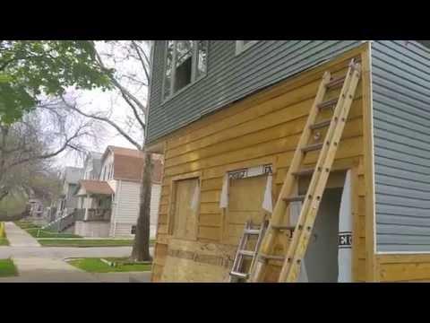 Chicago Total Gut Renovation - 2 flat Jefferson Park (in progress)