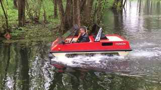 VP2000 et VP2025 Poncin amphibie ,balade sur l'eau !