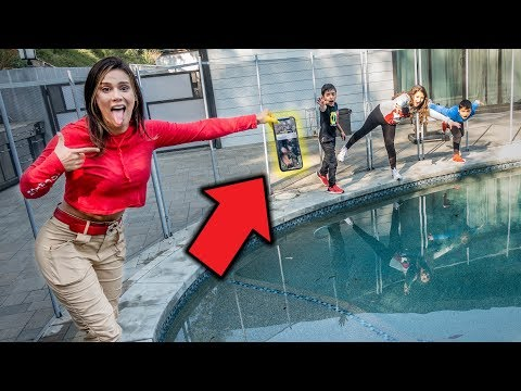 IPHONE Xs In Our Swimming Pool PRANK On Ferran!! | The Royalty Family