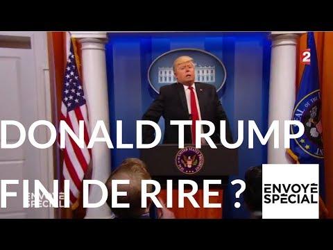 Envoyé spécial. Donald Trump fini de rire ? 5 octobre 2017 (France 2)