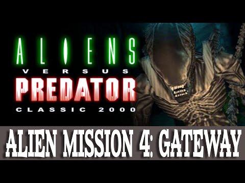 Aliens versus Predator Classic 2000 Walkthrough Alien 4 Gateway (Gameplay/No Commentary) |