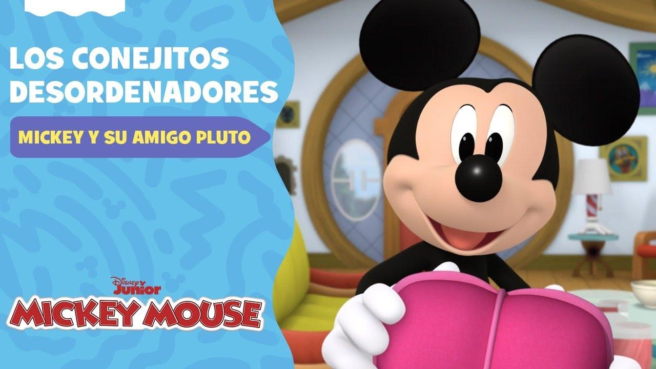 Mickey Mouse y su amigo Pluto | Los conejitos desordenadores