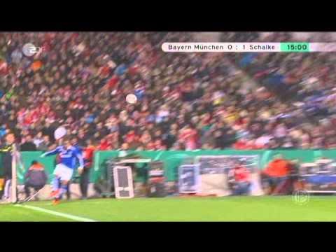 Bayern München 0 1 Schalke 04 Dfb Pokal 2010 2011 Tor