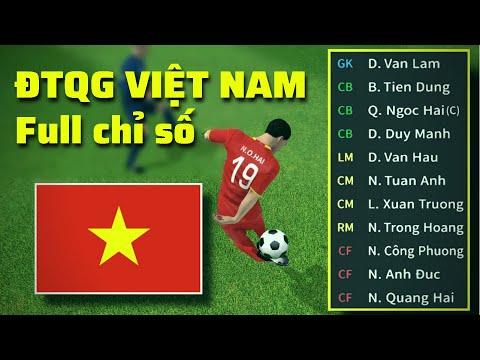 dream league soccer 2019 hack full chỉ số - Đội Tuyển Việt Nam Full Chỉ Số Cực Mạnh Trong Dream League Soccer - DTQG Việt Nam DLS 21