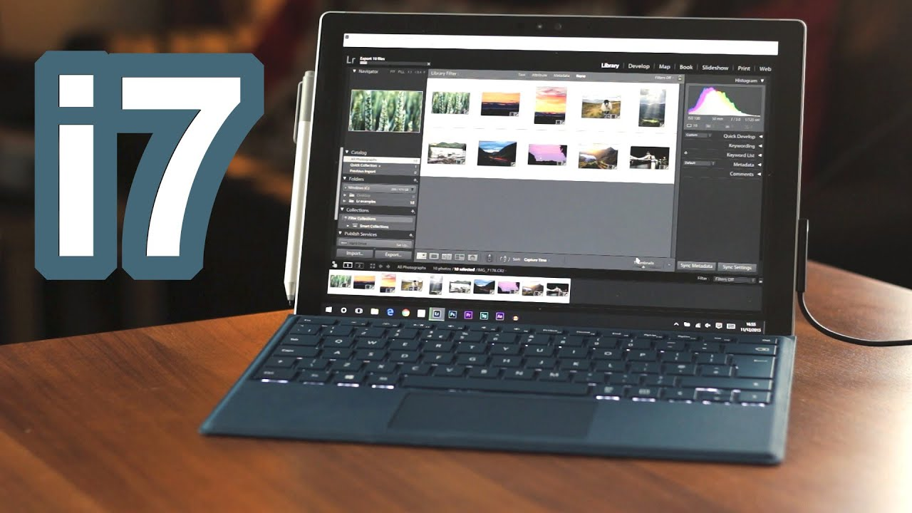 i7 surface pro 4 synthetic creative workflow. Black Bedroom Furniture Sets. Home Design Ideas