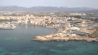 Anflug auf Mallorca (August 2012)