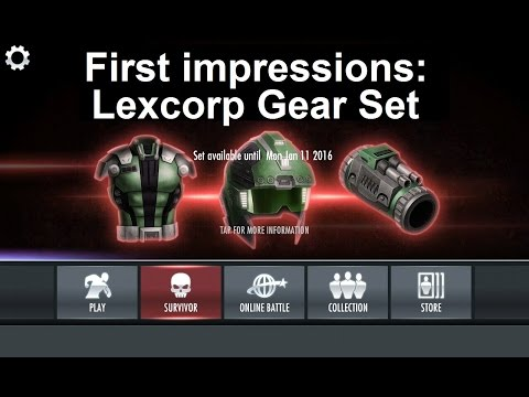 Injustice  Mobile: Lexcorp Gear Set, first impressions