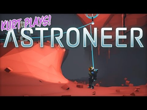 Kurt Plays ASTRONEER - 36 - Underground Arid Planet Base
