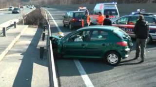 Verkehrsunfall A12 bei Zirl West