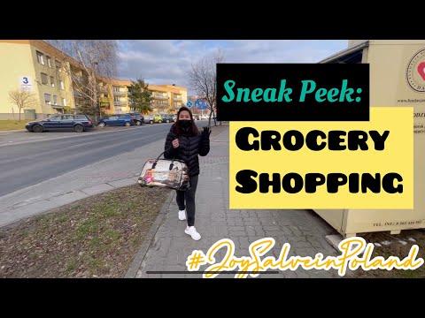 Sneak Peek: Grocery Shopping | JoySalve in Poland Vlogs