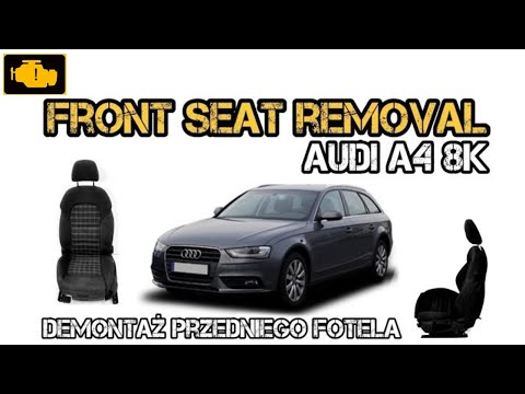 replacement drivers seat audi a4