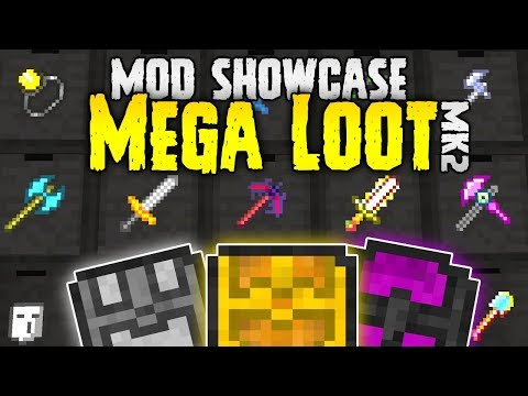 EPIC Minecraft Loot!   Mega Loot MOD SPOTLIGHT   Minecraft 1.12