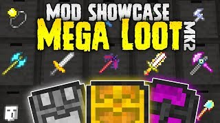 EPIC Minecraft Loot! | Mega Loot MOD SPOTLIGHT | Minecraft 1.12
