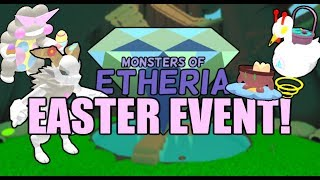 Monsters of Etheria Easter Event + Roblox Egg Hunt!