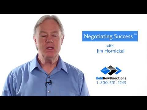 Negotiating Success - An Onsite Negotiation Skills Training Course