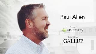 Paul Allen - Keynote Speaker for the Global Strengths Movement