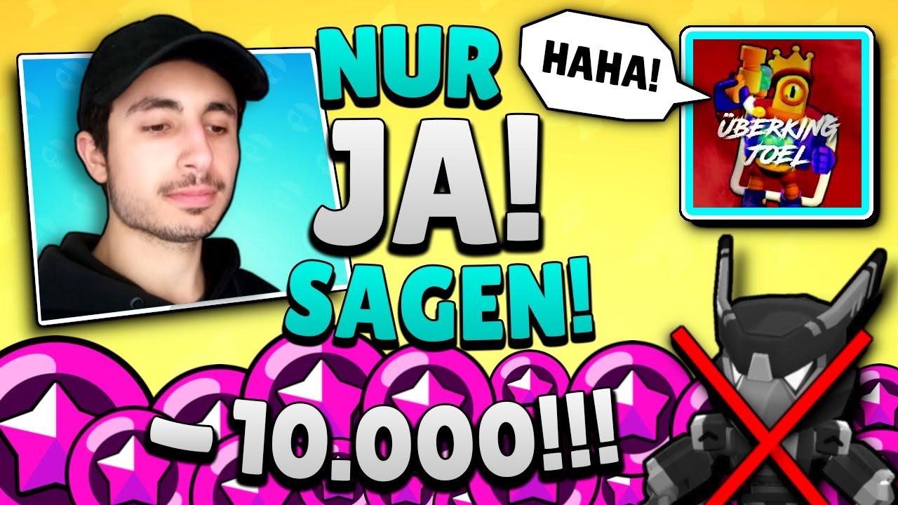 PEKKAREX muss 1 VIDEO *nur* JA sagen! *ÜBERKING JOEL übertreibt* 😭 Brawl Stars deutsch
