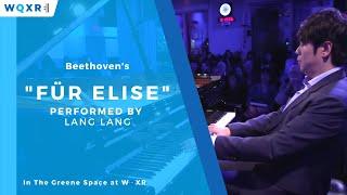 "Lang Lang performs Beethoven's ""Für Elise"""