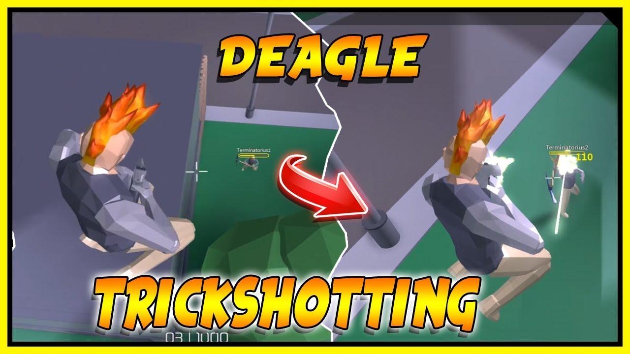 [Epic] Deagle and Sniper Trickshotting! ROBLOX: STRUCID ...