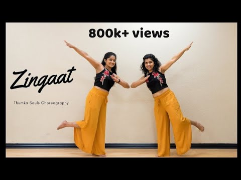 Zingaat | Dhadak | Dance Cover | Thumka Souls Choreography