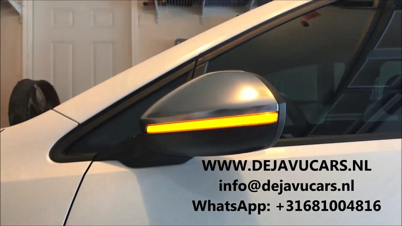 Spiegel Golf 7 : Mk dynamic turn signal side mirror dyna blink spiegel golf