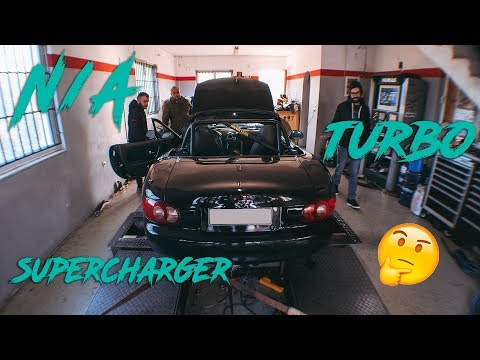 Option-D VLOG ep.18 // N/A, SUPERCHARGER ή Turbo ;