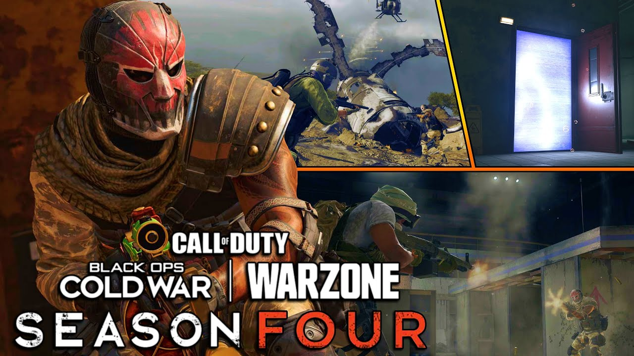 New Season 4 WARZONE Roadmap |New Weapons, POIs, New Modes, Vehicles & More!