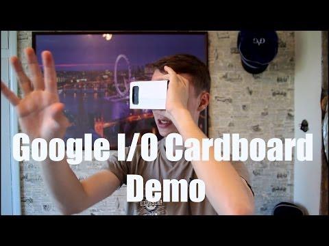 Google I/O Cardboard Demo