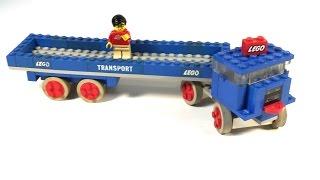 Lego 334 Semi Trailer Truck Form 1967 Vintage! +bat 1st Lego Plates?