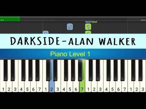 Darkside - Alan Walker - Not Piano Tingkat 1 - Instrumental