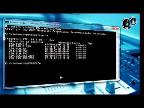 ARP CACHE En Windows 7 Que Es? Para Que Sirve Y Como Limpiarlo.
