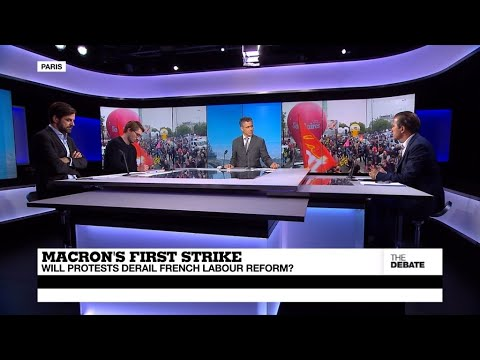 THE DEBATE - Macron's first strike: Will protests derail French labour reform?
