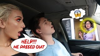 Making AWKWARD SITUATIONS In Drive Thru's!!