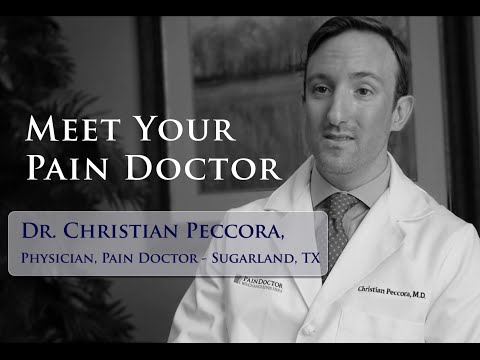 Meet Dr. Christian Peccora - The Top Pain Doctor In Sugarland, Texas
