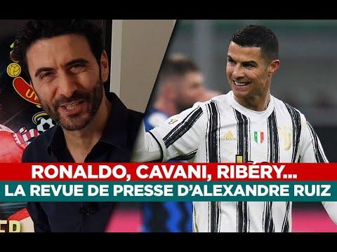Cristiano Ronaldo, Cavani,OM, Ribéry… La revue de presse d'Alexandre Ruiz - beIN SPORTS France