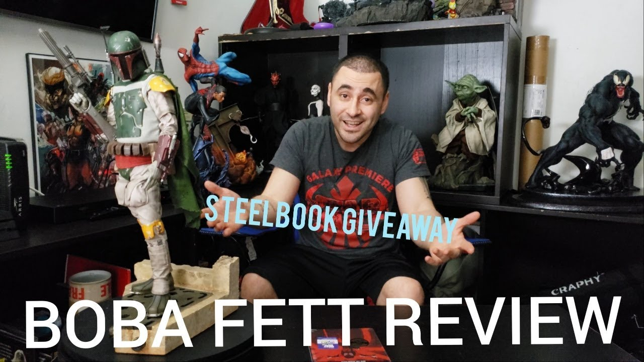 SIDESHOW COLLECTIBLES RETURN OF THE JEDI BOBA FETT PREMIUM FORMAT   IS IT  WORTH IT?