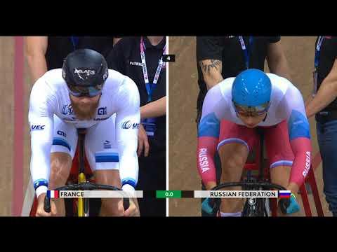 UCI Track World Cup Minsk - Men's Team Sprint finals