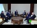 وفد برلماني روسي يلتقي الأسد في سوريا