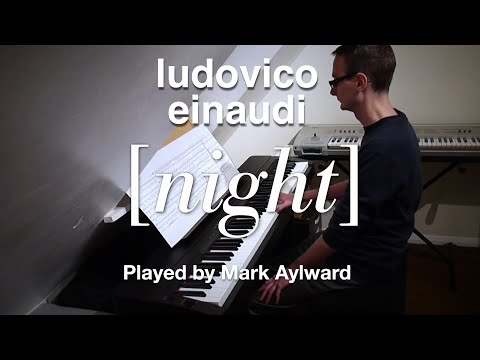 Ludovico Einaudi - Night (Solo Piano Cover)