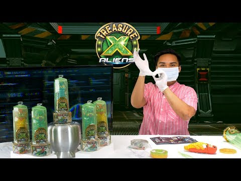 Treasure X Aliens Unboxing! The Ultimate Gooey, Slimy Dissection Experience!