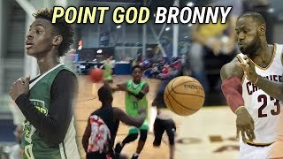 Bronny James Has Vision Like LEBRON! 13 Year Old Prodigy Can Already Do EVERYTHING 💯