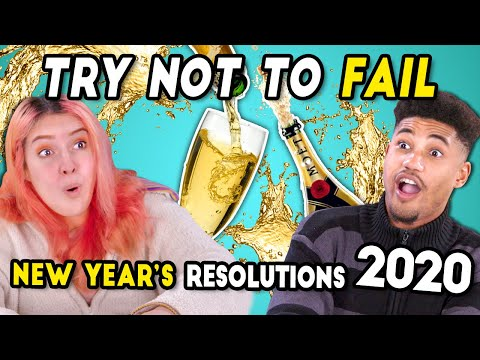 Try Not To Fail: New Year's Resolutions